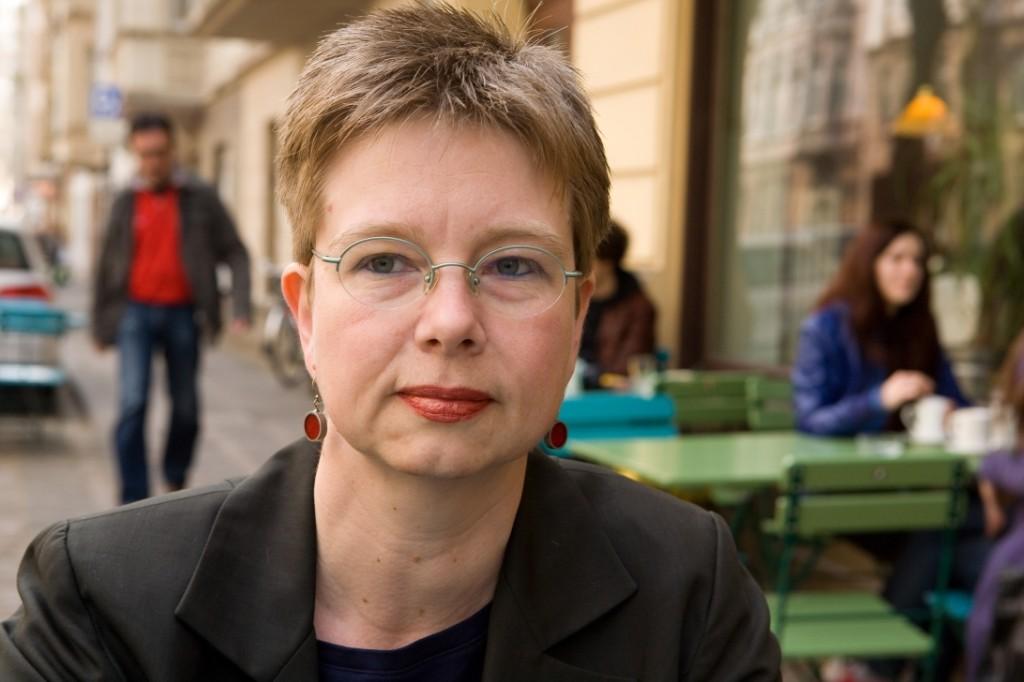 Andrea Kamphuis, 2010. Fotograf: Markus Lokai