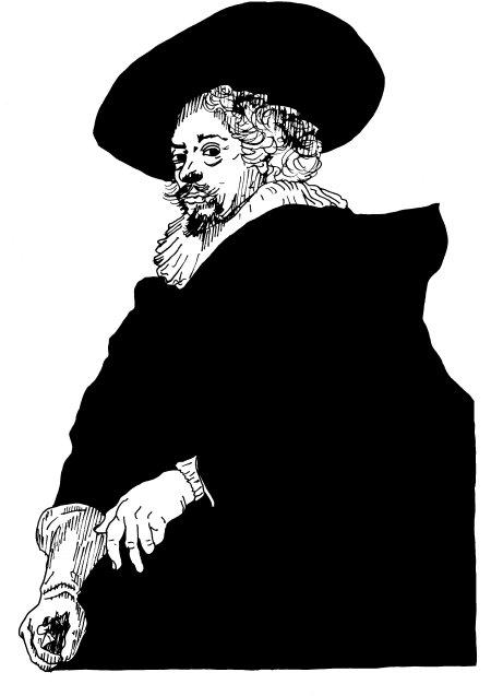 Rubens_Selbstporträt_1638_sw_450