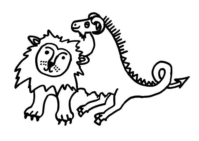 In der Mythologie ist die Chimäre ein Wesen, das vorne Löwe, in der Mitte Ziege und hinten Drachen ist. Wir alle sind Chimären: Unser Körper enthält Zellklone, die aus unseren Müttern stammen.